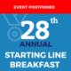 Press Release: Event Postponed: StarVista's 28th Annual Starting Line Breakfast