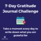 7-Day Gratitude Journal Challenge