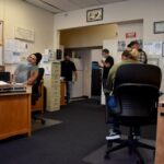 First Chance Sobering Station employees at StarVista's office in Burlingame.